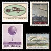 Aviation - Airplane, Zeppelin, balloon (503)